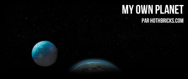 My own Planet : Le concours