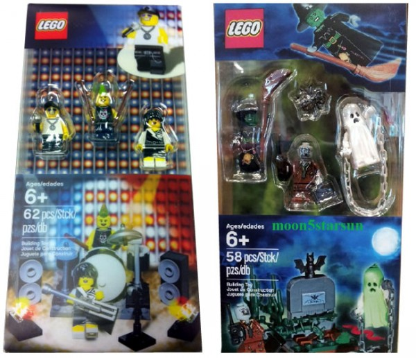 New Collectable Minifigure Sets - Rock Band & Monsters