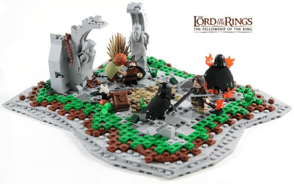 The Watchtower of Amon Sûl par TheBrickAvenger