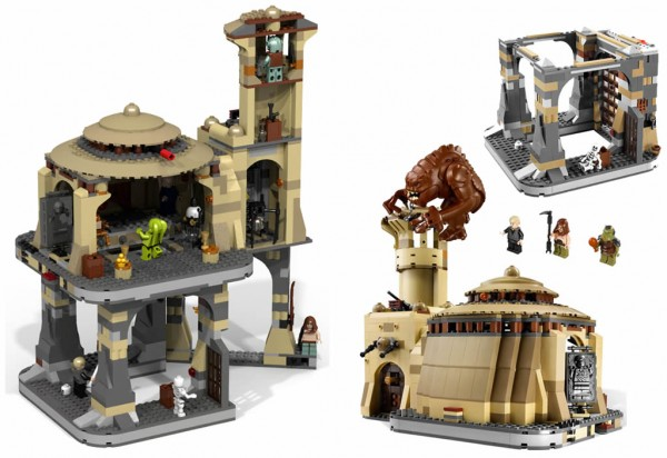 LEGO Star Wars 9516 Jabba's Palace & Rancor Pit (Rendu 3D par Gunner)