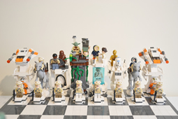 LEGO Star Wars Giant Hoth Chess par Brickplace Customs