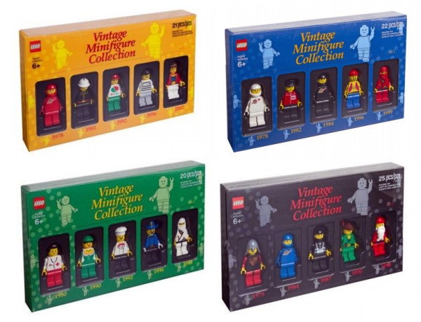 Bricktober 2012 Exclusive - LEGO BVintage Minifigure Collection