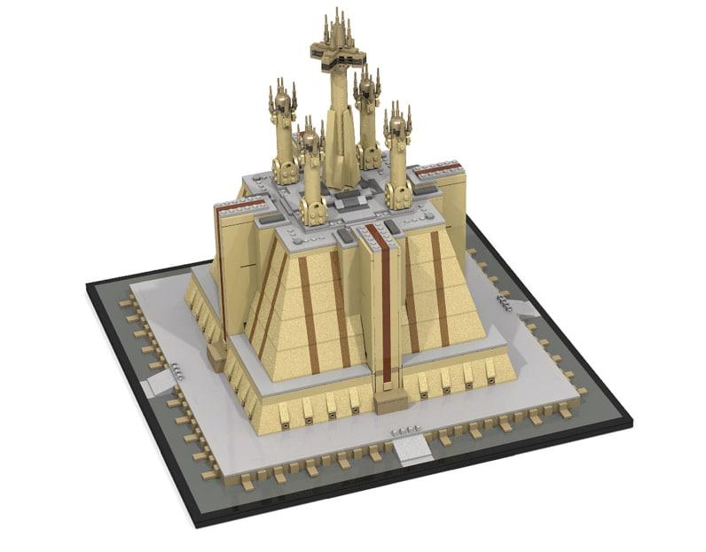 Jedi Temple Star Wars Et Architecture Pourraient Se