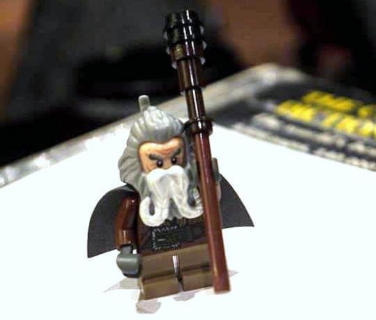 The Hobbit -John Callen as Oin - LEGO Minifig