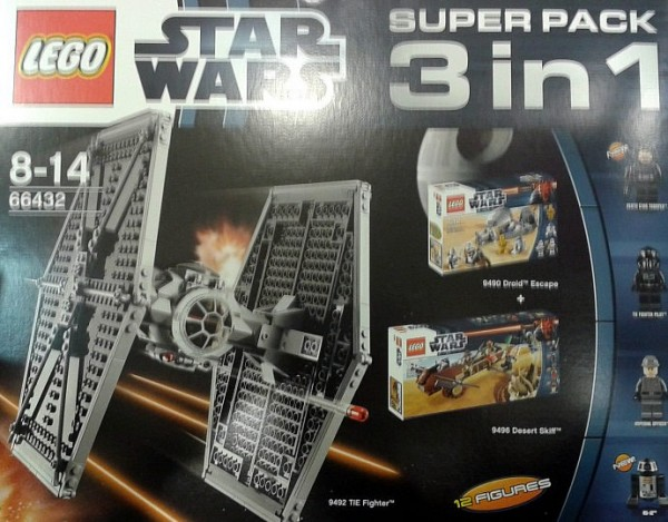 66432 LEGO Star Wars Super Pack 3en1