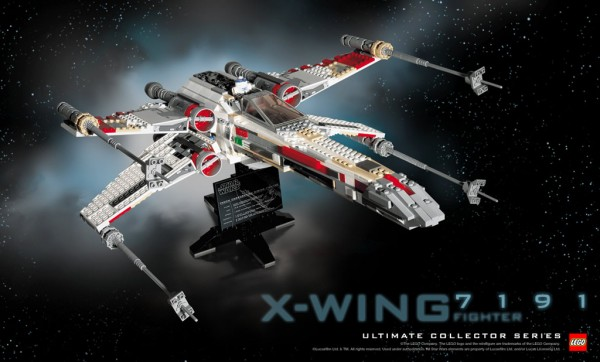 LEGO Star Wars Ultimate Collector Series - 7191 X-Wing Fighter
