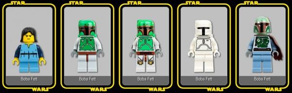 LEGO Star Wars Minifigs par Studio68fr