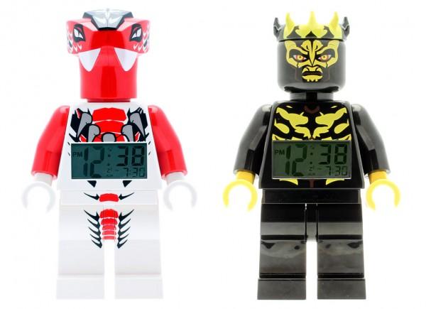 LEGO Ninjago & Star Wars Alarm Clocks - Fang Suei & Savage Opress