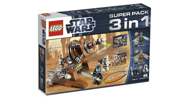 LEGO Star Wars 66431 Super Pack 3in1