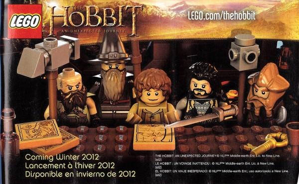 LEGO The Hobbit . Coming Winter 2012