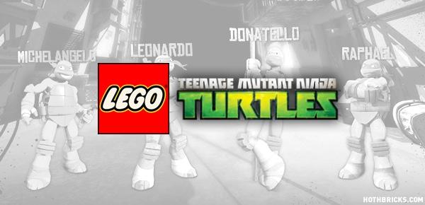 LEGO Teenage Mutant Ninja Turtles - 2013 (Montage de visuels ne représentant pas la gamme concernée)