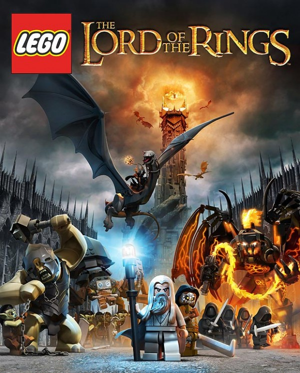 LEGO Lord of the Rings Video Game Teaser Poster