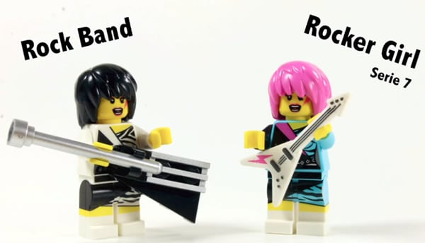 LEGO Rock Band Minifigure Review 850486 par MonsieurCaron