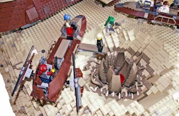 LEGO Star Wars Tatooine Diorama par Ar Sparfel