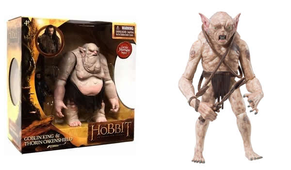 The Hobbit : Goblin King & Grinnah - The Bridge Direct Collectible Action Figures
