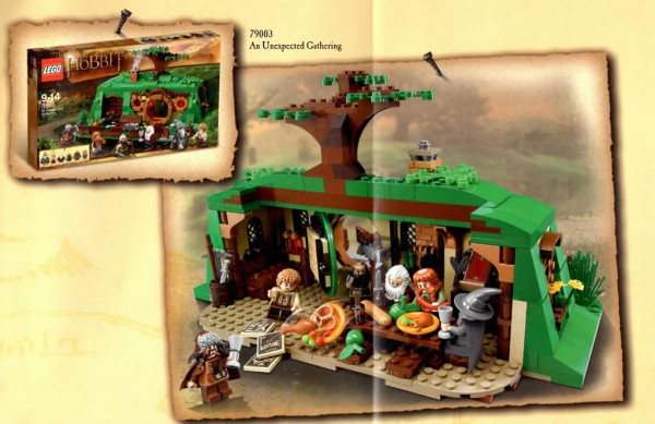 LEGO The Hobbit - 79003 An Unexpected Gathering