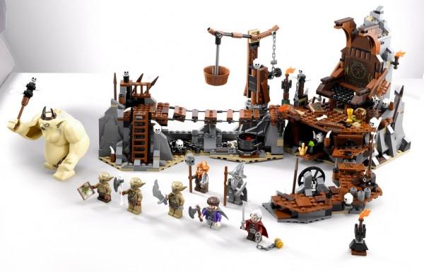 LEGO The Hobbit : 79010 The Goblin King Battle