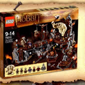 LEGO The Hobbit : 79010 The Goblin King Battle