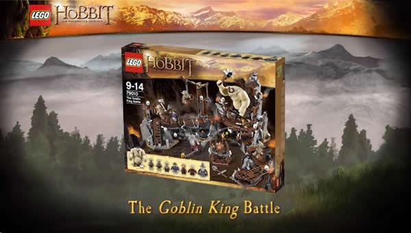 LEGO The Hobbit - 79010 The Goblin King Batlle