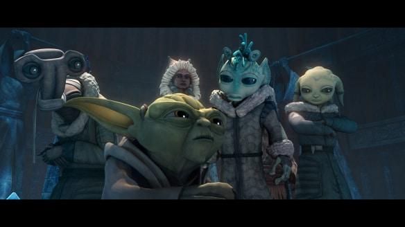 The Clone Wars Saison 5 : The Gathering