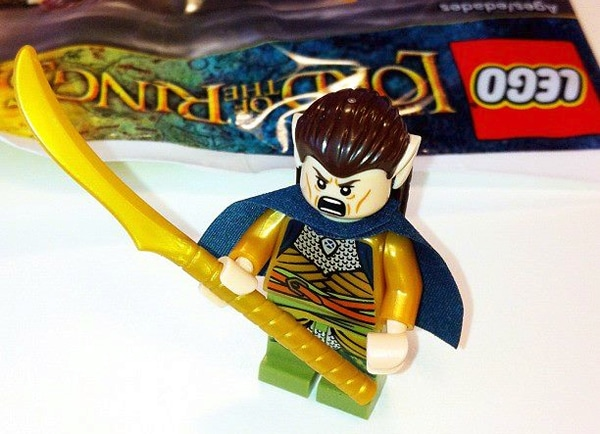 LEGO Lord of the Rings Elrond Exclusive Minifig