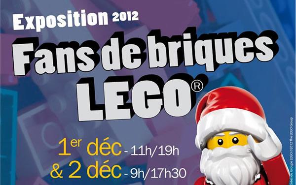 Exposition Fans de Briques LEGO - 1er et 2 décembre 2012 à Talence (33)