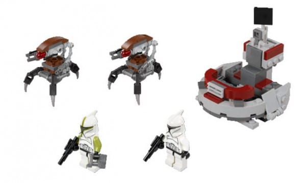 LEGO Star Wars 75000 - Clone Troopers vs. Droidekas Battle Pack