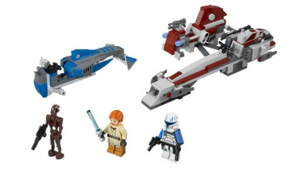 LEGO Star Wars 75012 - BARC Speeder with Sidecar