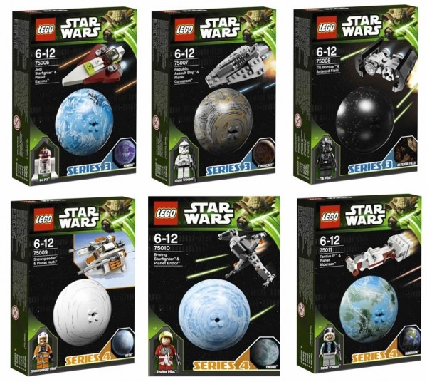 LEGO Star Wars Planet Series 3 & 4