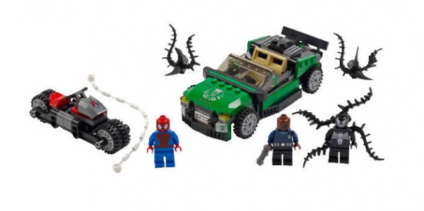 LEGO Super Heroes Marvel - 76004 Spider-Man - Spider-Cycle Chase