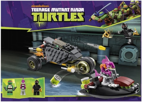 LEGO Teenage Mutant Ninja Turtles : 79102 Stealth Shell in Pursuit