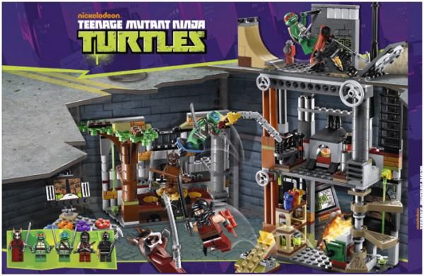 LEGO Teenage Mutant Ninja Turtles : 79103 Turtle Lair Attack