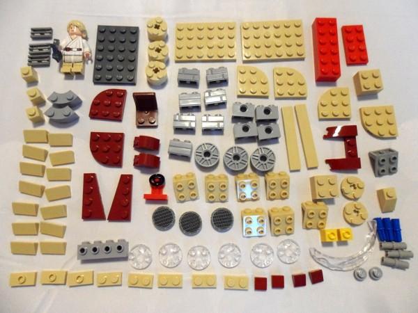 New York Comic Con 2012 : Exclusive LEGO Star Wars Luke Skywalker's Mini Landpseeder