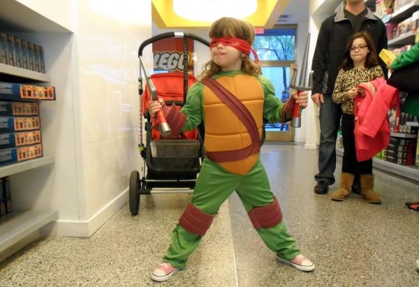 LEGO Teenage Mutant Ninja Turtles Exclusive Minifig @LEGO Store Rockefeller Center New York