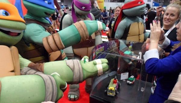 Teenage Mutant Ninja Turtles @ LEGO Booth