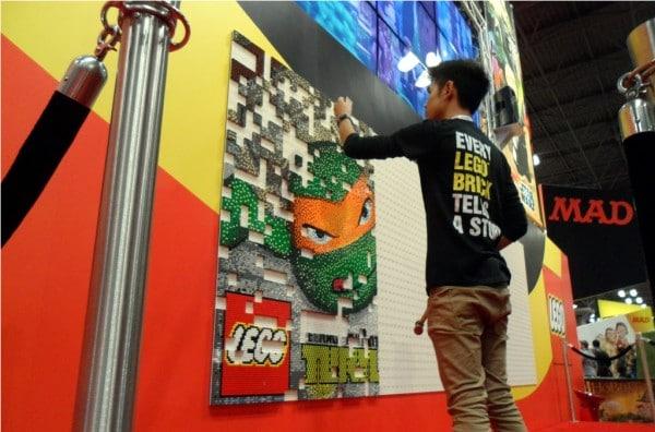 New York Comic Con 2012 - Teenage Mutant Ninja Turtles Mosaic
