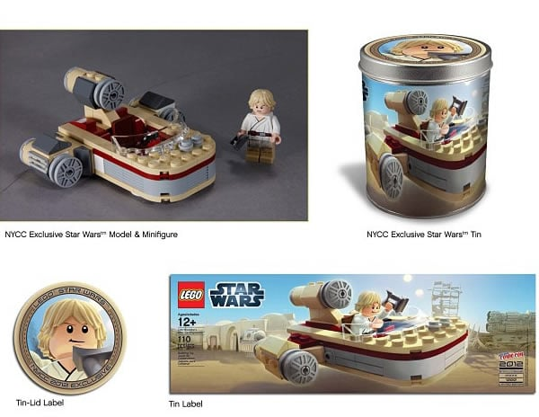 New York Comic Con 2012 - LEGO Star Wars Exclusive