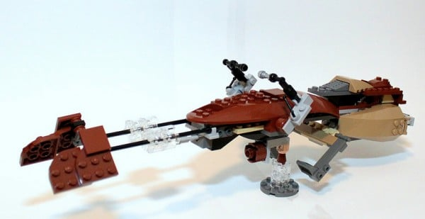 Speederbike - With parts from 9496 Desert Skiff