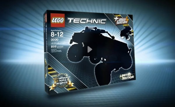 LEGO Technic Challenge : You design it, they sell it