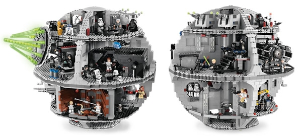 lego star wars death star 10188 instructions