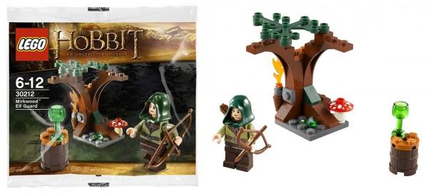 LEGO The Hobbit 30212 Mirkwood Elf Guard