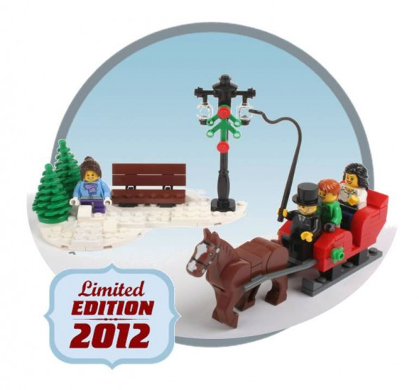 3300014 - 2012 LEGO Christmas Set