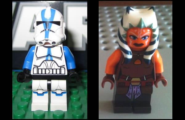LEGO Star Wars - 501st Clone Trooper & Ahsoka