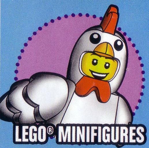 LEGO Minifigures Series 9 : Chicken Suit Guy