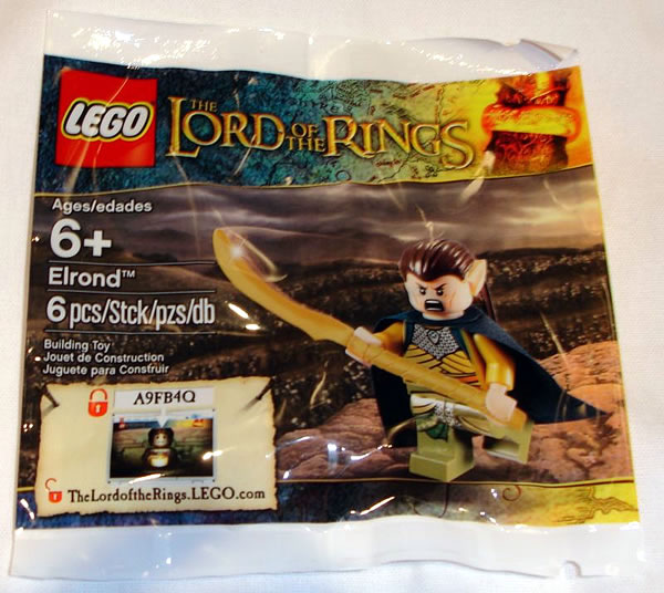 LEGO Lord of the Rings : Exclusive Elrond Minifigure