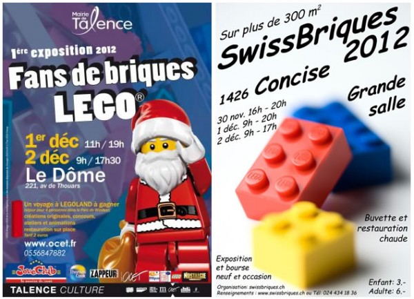 Les expos de début décembre : Talence et Concise