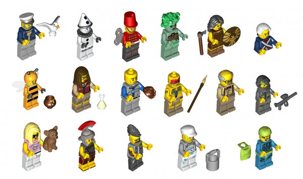 Collectibles Minifigures Series ?