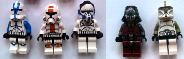 LEGO Star Wars 2013 - Minifigs Lineup