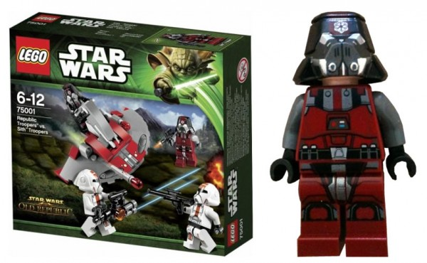 LEGO Star Wars 75001 Republic Troopers vs Sith Troopers Battle Pack