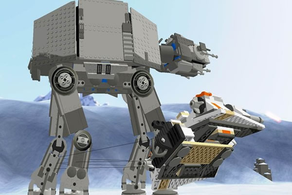 Lego Star Wars II (Video Game) Battle of Hoth